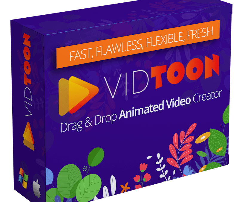 VIDTOON is Easy, Fun and Profitable