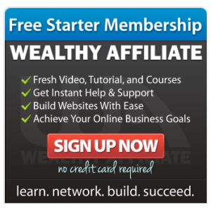 wealthy affiliate signup square